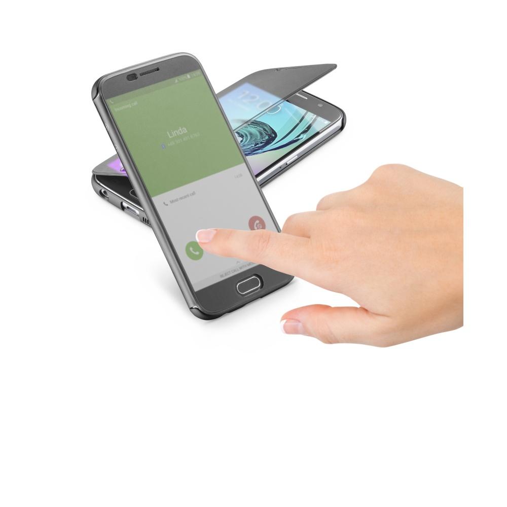 Cellularline Book TOUCH Pouzdro flip Samsung Galaxy A5 2016 černé