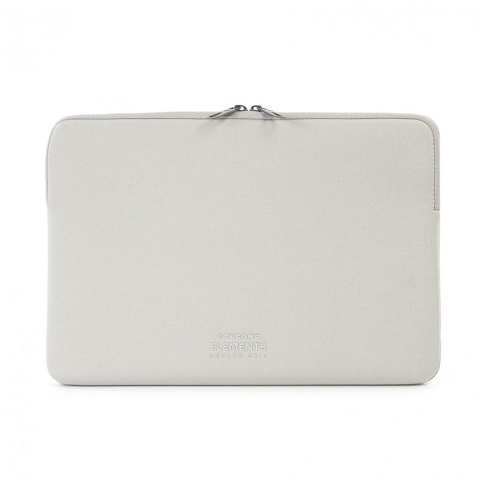 "TUCANO ELEMENTS SECOND SKIN Neoprenové pouzdro Apple MacBook Pro 13"" Anti-Slip Systém® stříbrný"