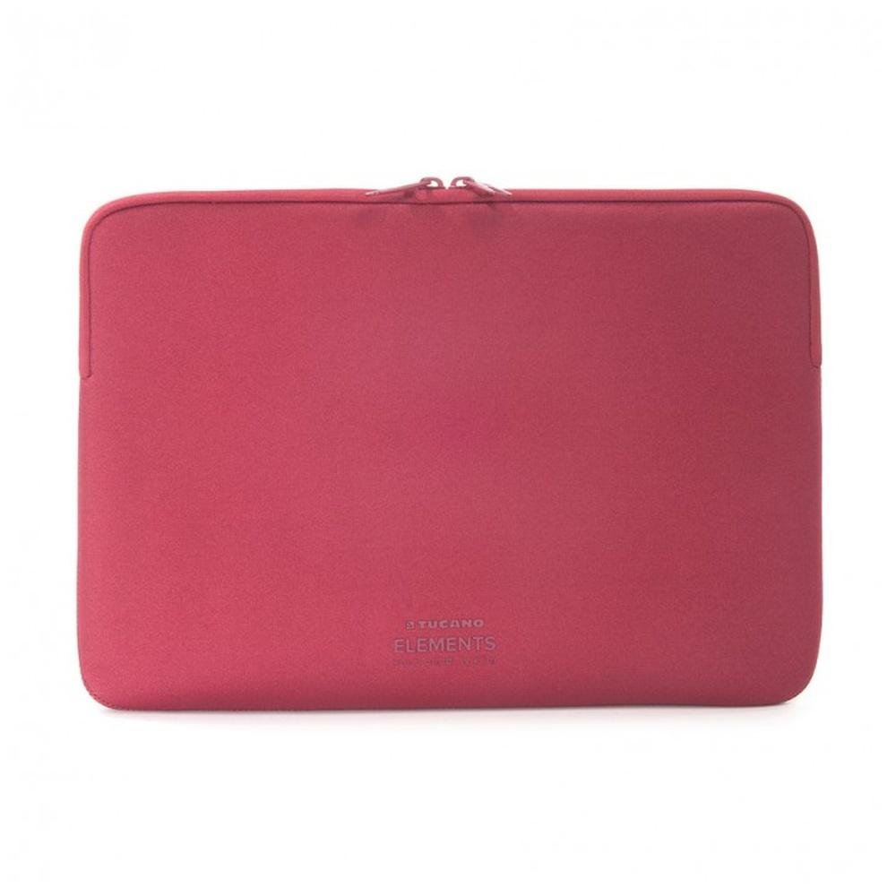 "TUCANO ELEMENTS SECOND SKIN Neoprenové pouzdro Apple MacBook Pro 13"" Anti-Slip Systém® červené"