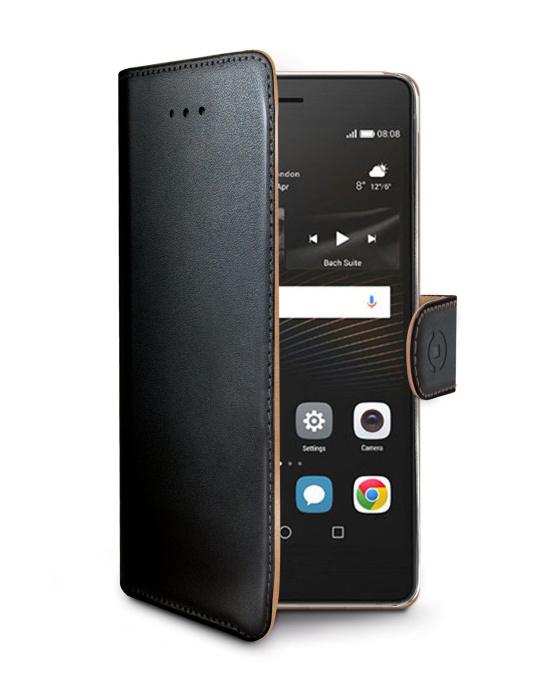 CELLY Wally flipové pouzdro Huawei P10 Lite černé