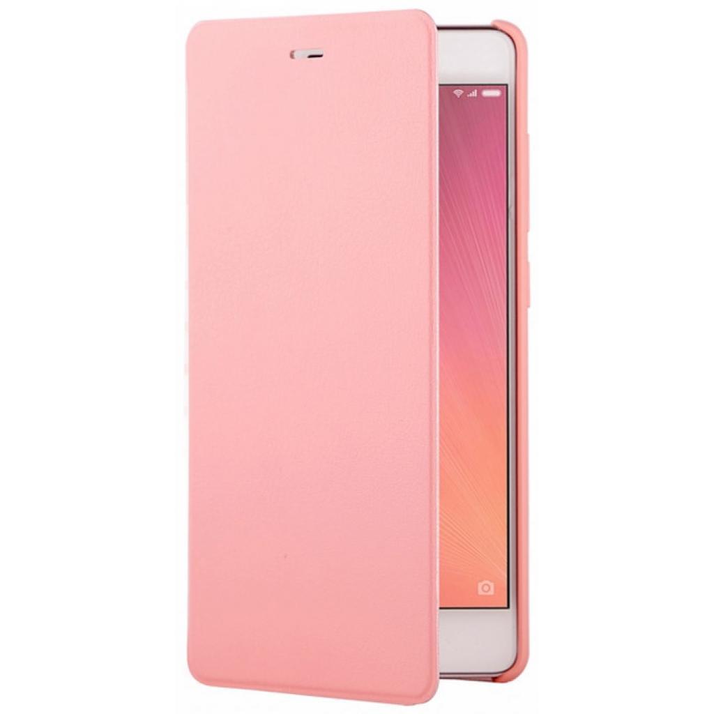 Xiaomi Original NYE5313CN flipové pouzdro Xiaomi Redmi 3 růžové