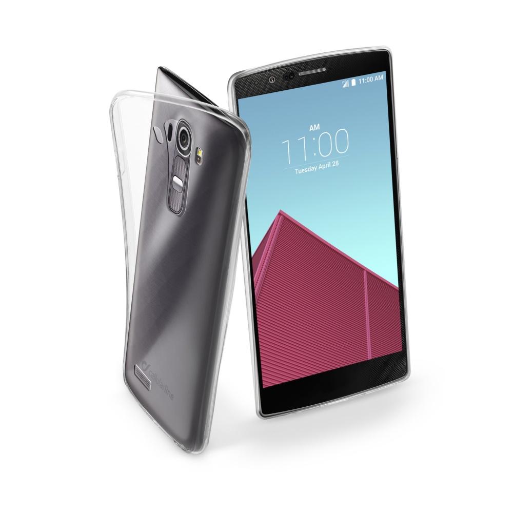 CellularLine Fine silikonové pouzdro LG G4 bezbarvé