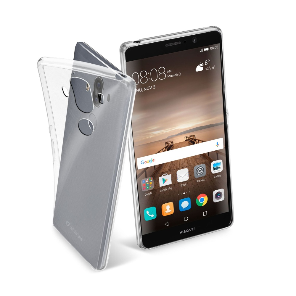 CellularLine Fine silikonové pouzdro Huawei Mate 9 bezbarvé