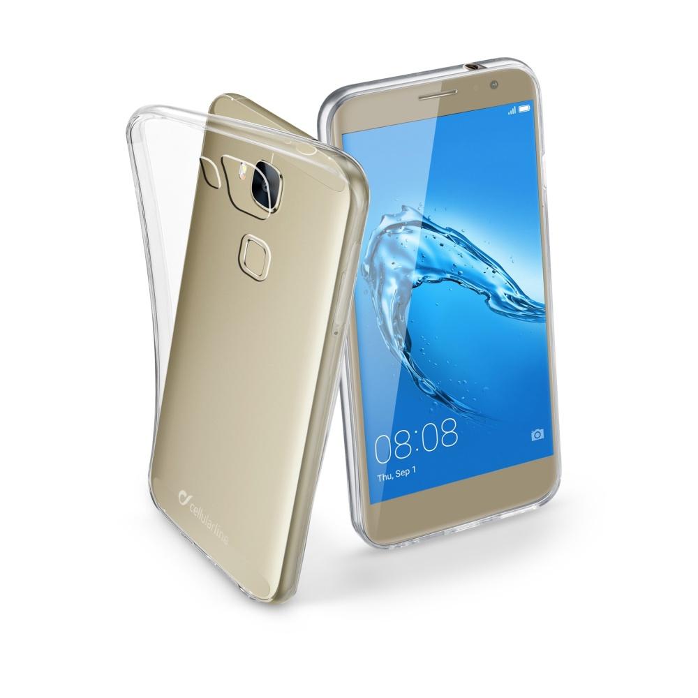 CellularLine Fine silikonové pouzdro Huawei Nova Plus bezbarvé