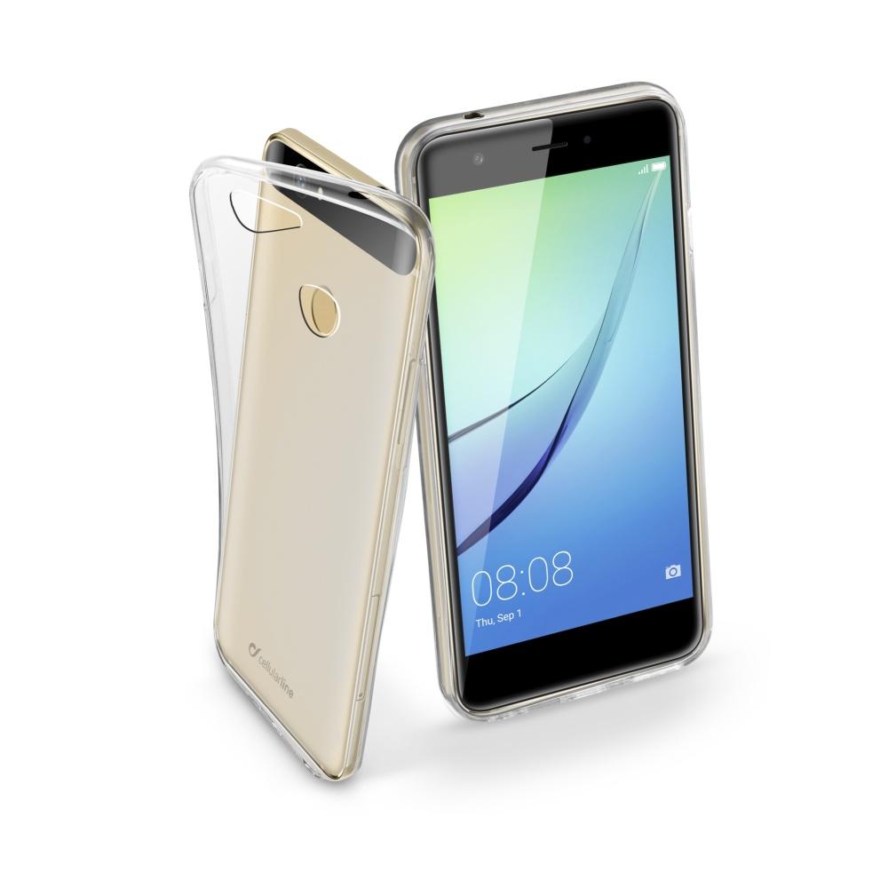 CellularLine Fine silikonové pouzdro Huawei Nova bezbarvé