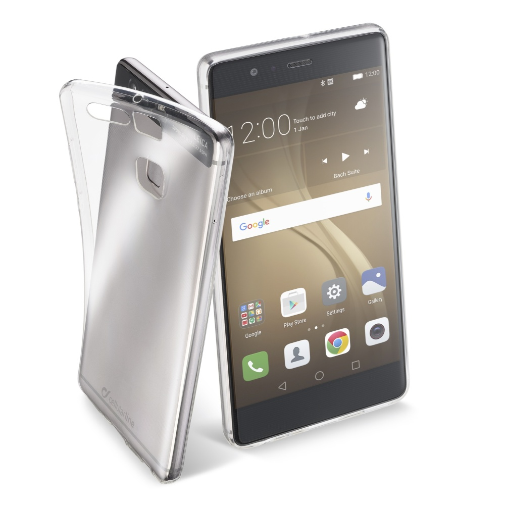 CellularLine Fine silikonové pouzdro Huawei P9 PLUS bezbarvé