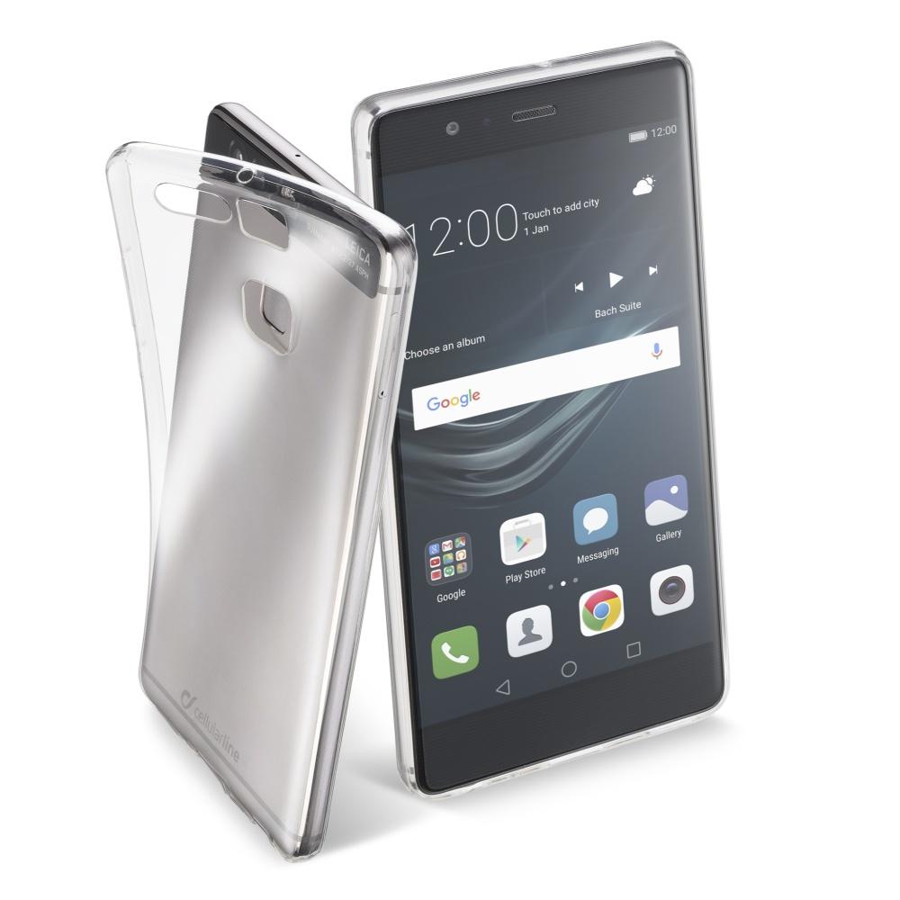 CellularLine Fine silikonové pouzdro Huawei P9 bezbarvé