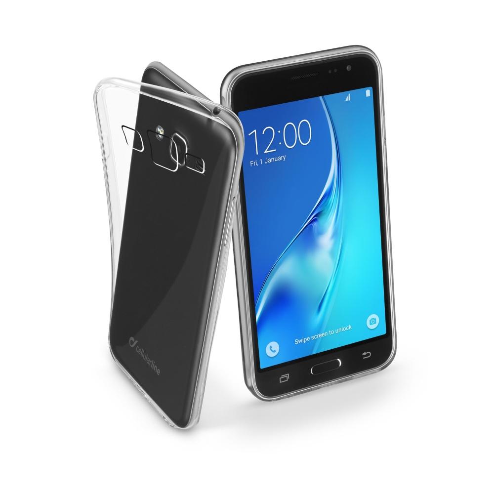 CellularLine Fine silikonové pouzdro Samsung Galaxy J3 2016 čiré