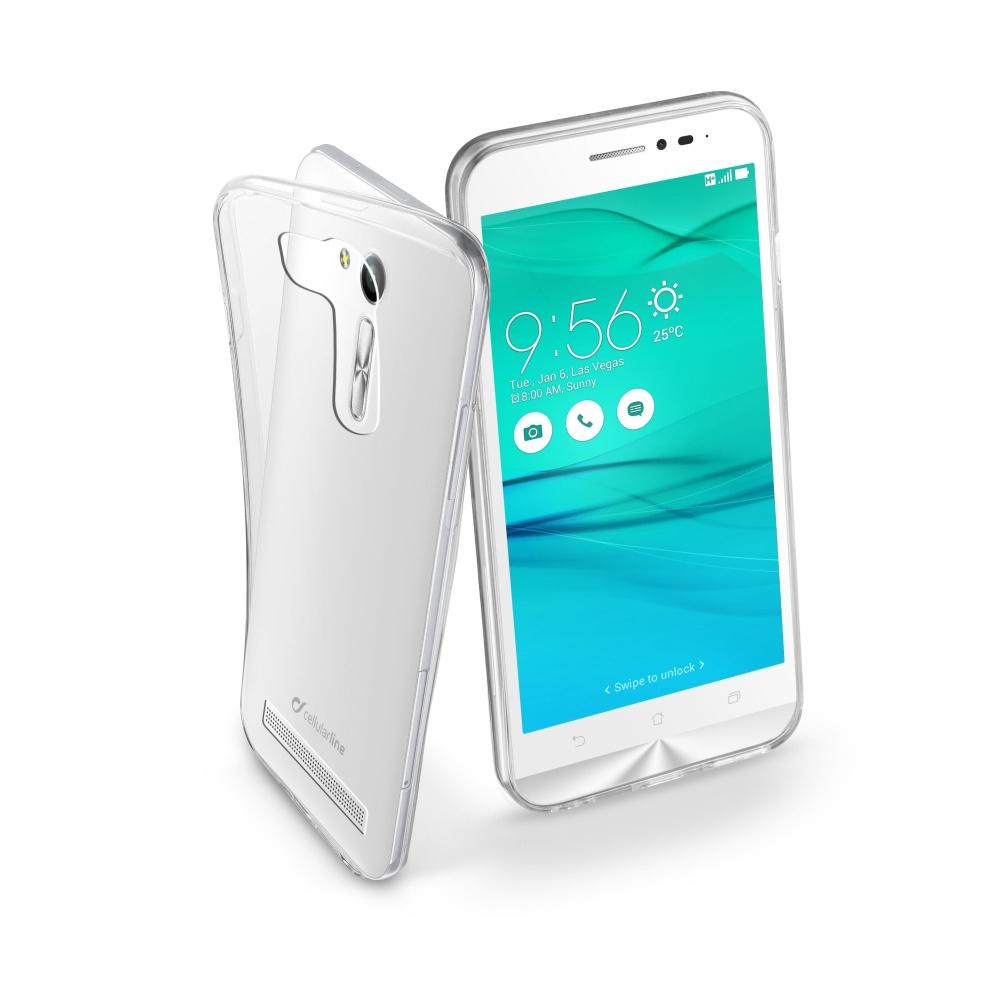 "CellularLine Fine silikonové pouzdro ASUS Zenfone Go 5,5"""