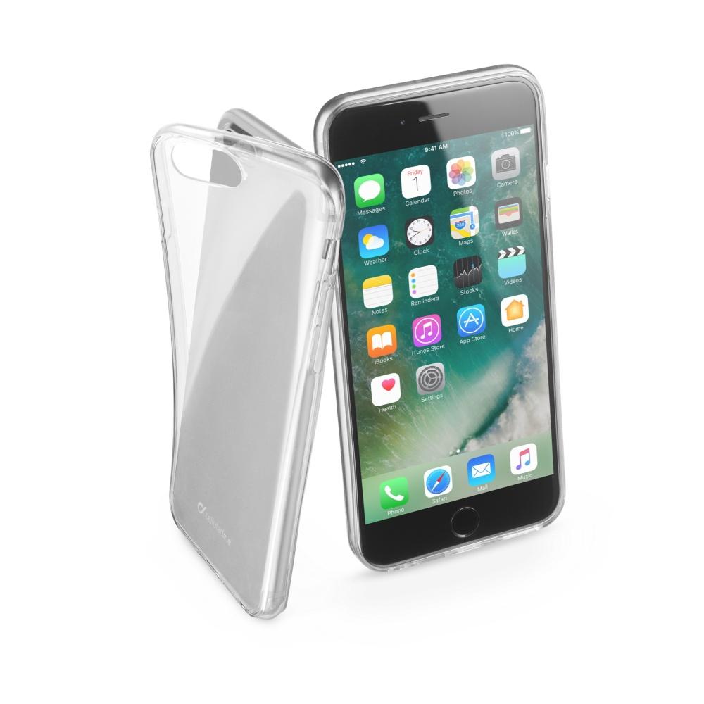 CellularLine Fine silikonové pouzdro Apple iPhone 7 Plus bezbarvé