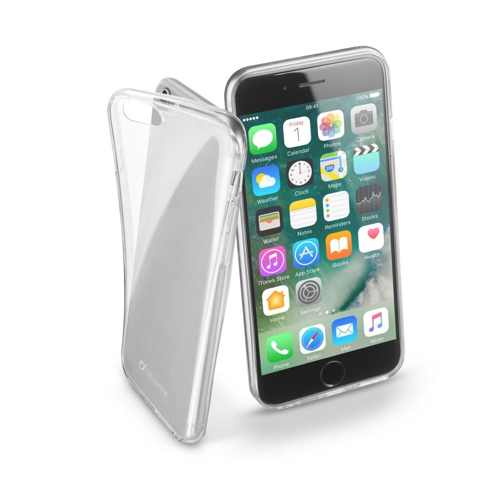 CellularLine Fine silikonové pouzdro Apple iPhone 7 bezbarvé