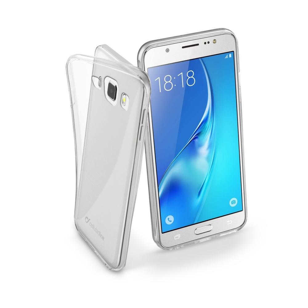 CellularLine Fine silikonové pouzdro Samsung Galaxy J5 2016 bezbarvé