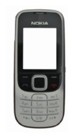 Přední kryt pro Nokia 2330c, black - VÝPRODEJ!!