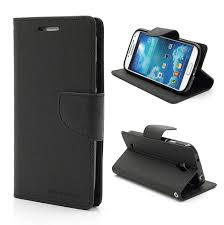Fancy Diary flipové pouzdro Vodafone Smart Ultra 7 černé