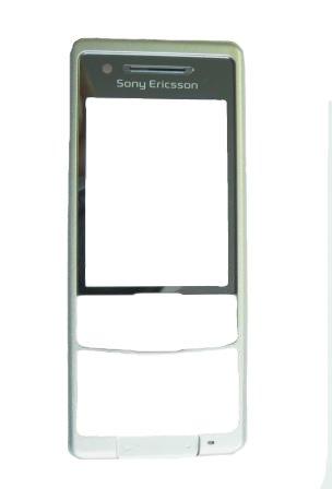 Přední kryt pro Sony Ericsson C510, silver - VÝPRODEJ!!