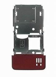 Střední kryt pro Sony Ericsson C902, red - VÝPRODEJ!!