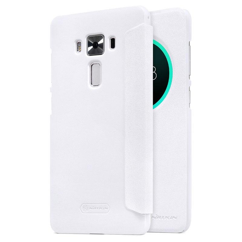 Nillkin Sparkle S-View pouzdro flip ASUS Zenfone 3 DeLuxe ZS570KL bílé