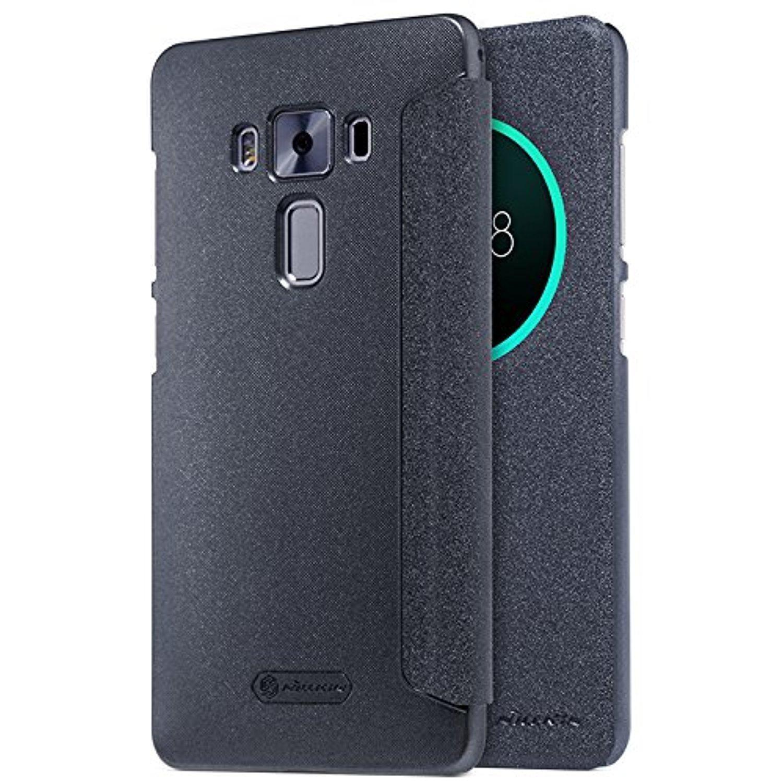 Nillkin Sparkle S-View pouzdro flip ASUS Zenfone 3 DeLuxe ZS570KL černé