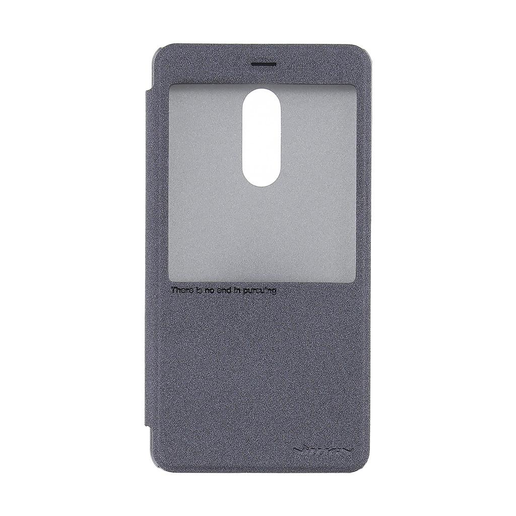 Nillkin Sparkle S-View pouzdro flip Xiaomi Redmi Note 4 černé