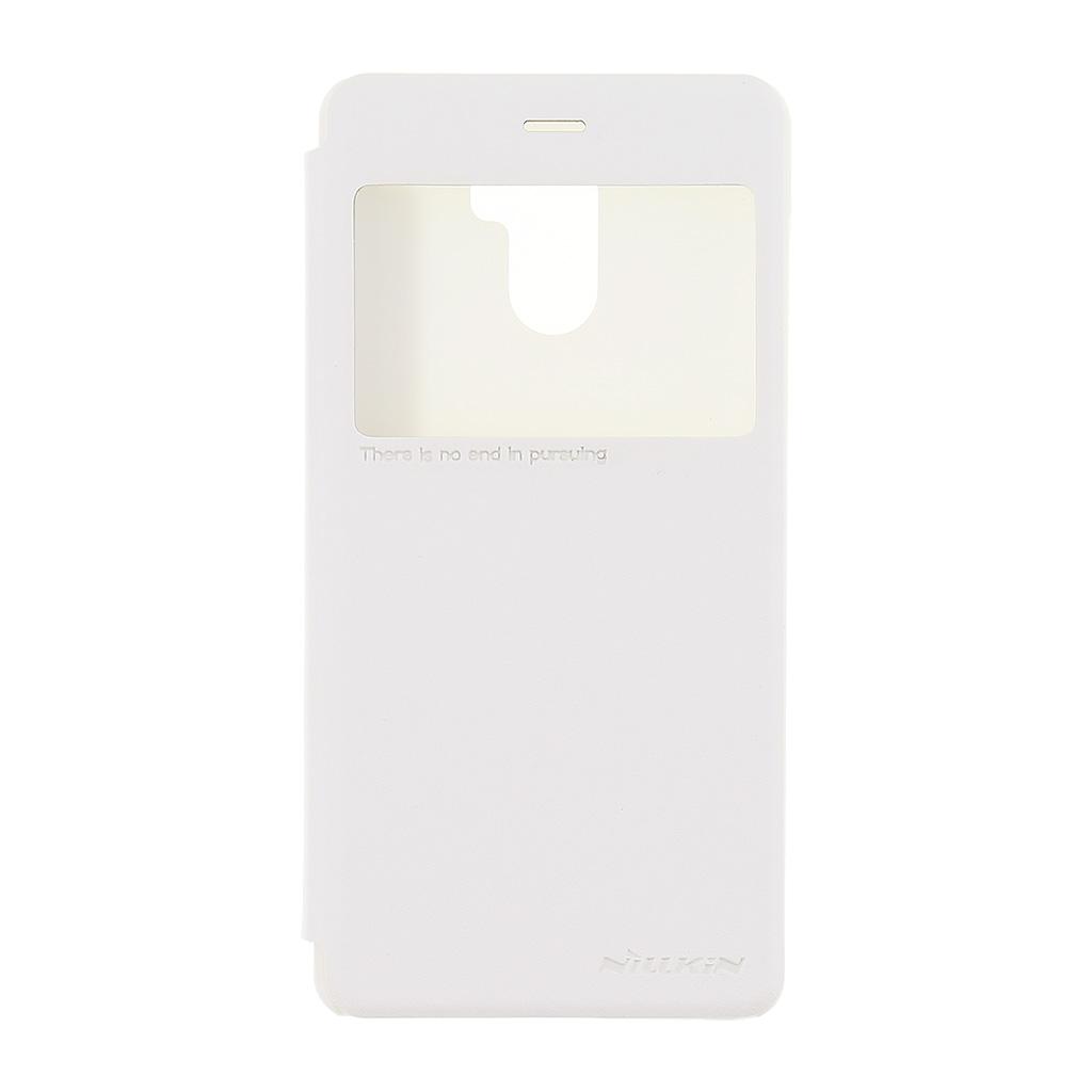 Nillkin Sparkle S-View pouzdro flip Xiaomi Redmi 4 bílé