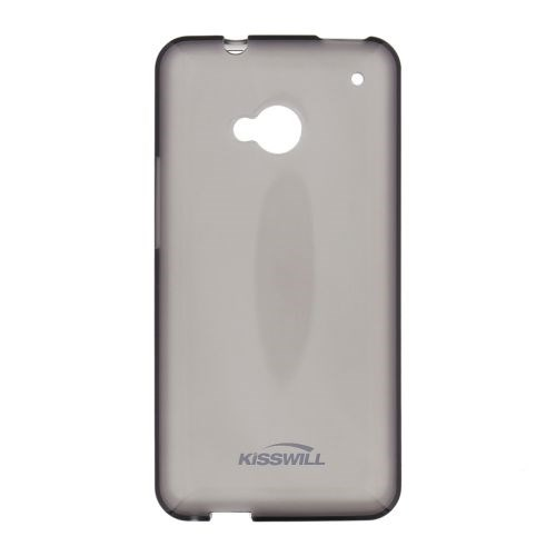 Silikonové pouzdro Kisswill pro HTC U Ultra černé