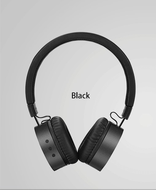 USAMS LH Bluetooth Stereo Headset Black