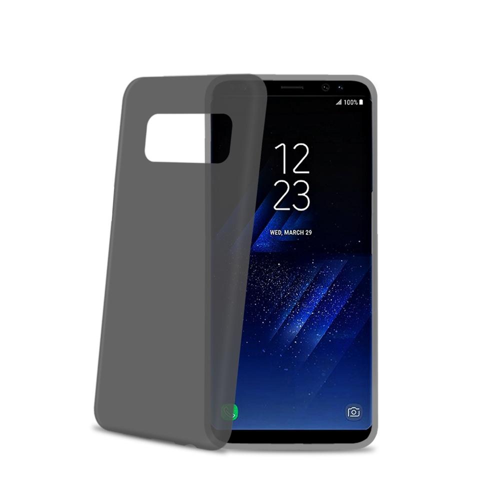Silikonové pouzdro CELLY Frost pro Samsung Galaxy S8 Plus, černé