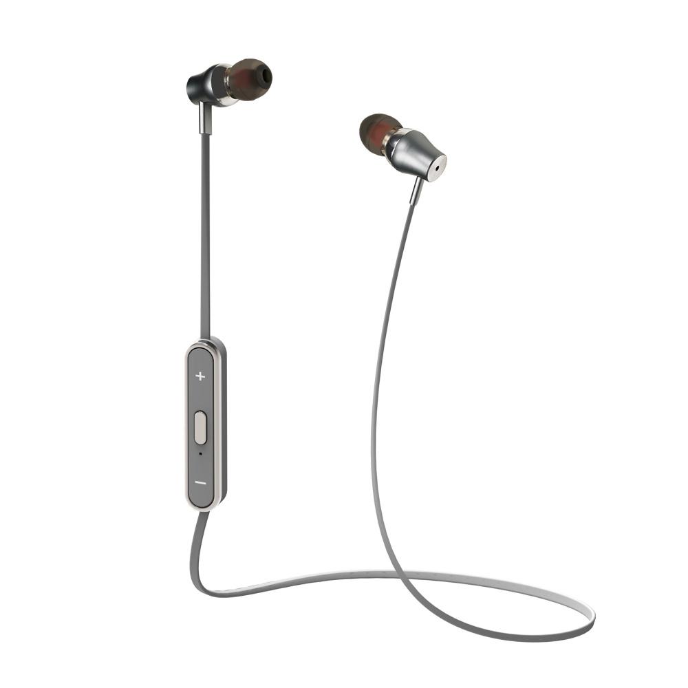 CELLY Bluetooth Stereo sluchátka stříbrná