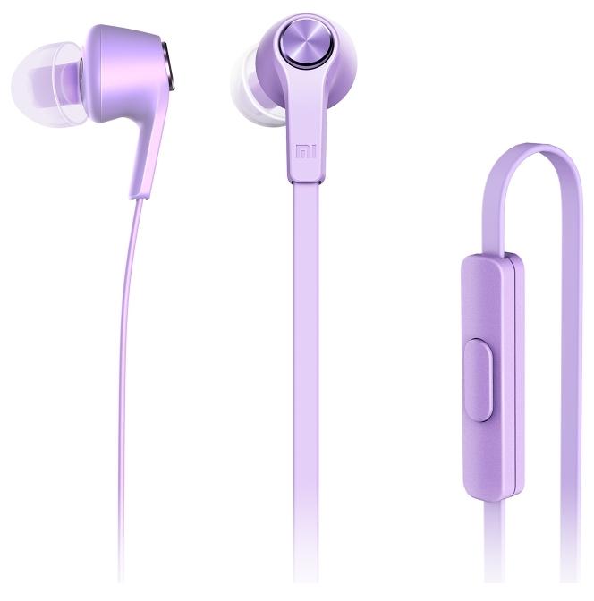 Stereo Headset Xiaomi Mi In ZBW4357TY 3,5mm jack fialový EU Blister