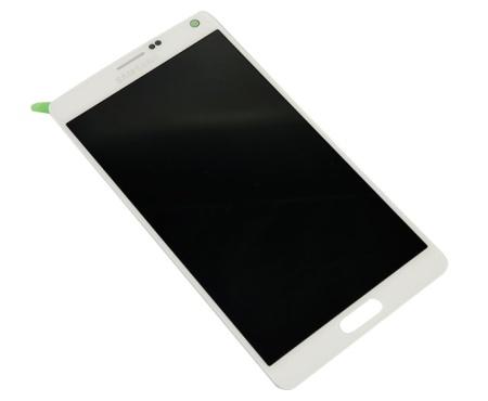LCD displej + dotyková deska pro Samsung N910 Galaxy Note 4 bílá