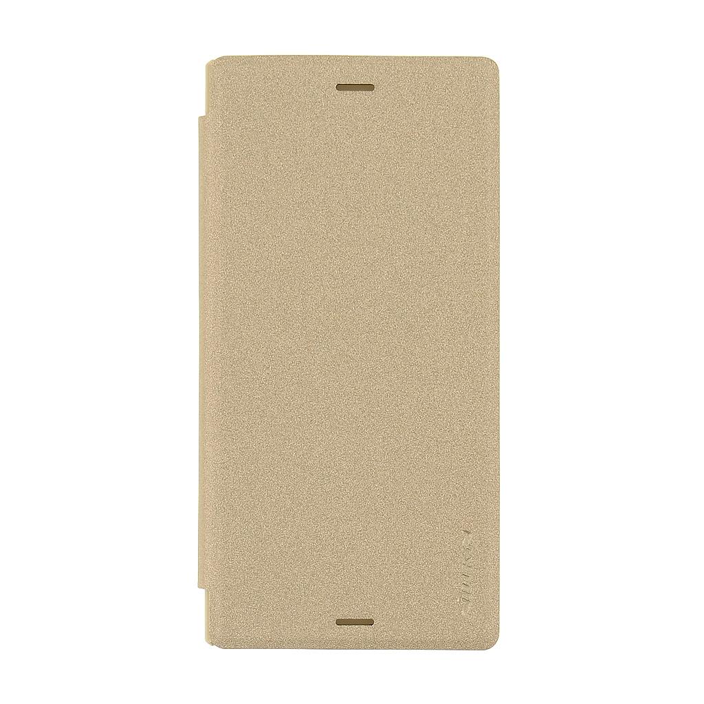 Nillkin Sparkle Folio flipové pouzdro Sony Xperia XZ zlaté