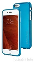 Silikonové pouzdro Mercury i-Jelly METAL pro Apple iPhone 5S/SE, blue