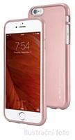 Silikonové pouzdro Mercury i-Jelly METAL pro Samsung Galaxy S6, rose gold