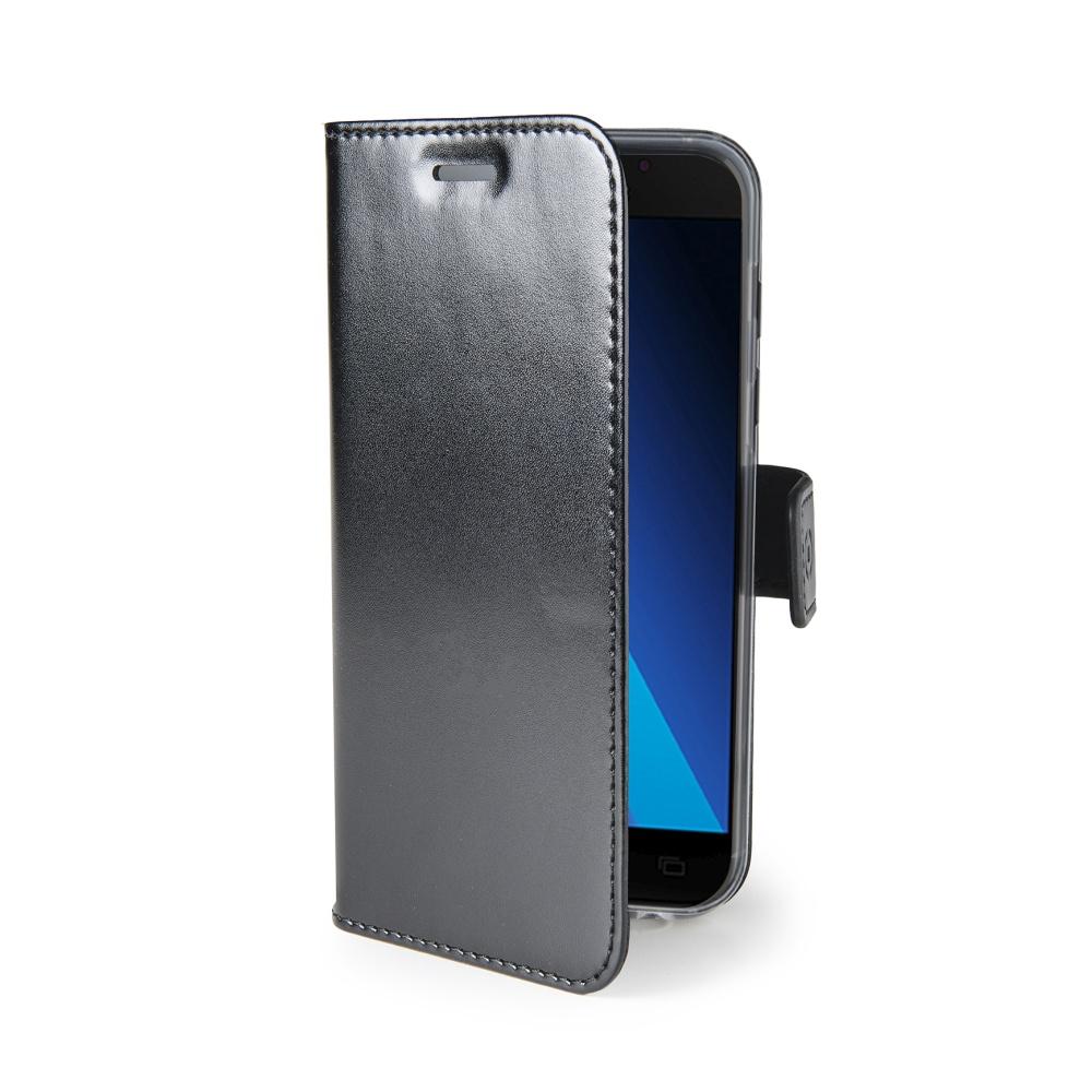 CELLY Air Ultra tenké flipové pouzdro Samsung Galaxy A3 2017 černé
