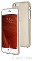 Silikonové pouzdro Mercury iJelly Metal pro Apple iPhone 6/6S, gold