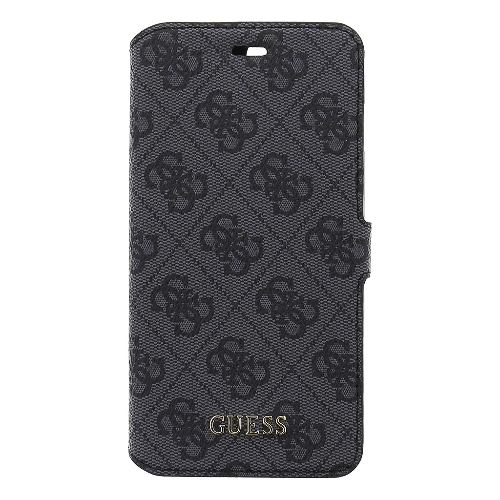 Guess 4G pouzdro flip GUFLBKP7L4GG Apple iPhone 7 Plus šedé
