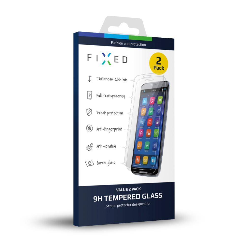 Tvrzené sklo FIXED pro Sony Xperia M4 Aqua, 2ks