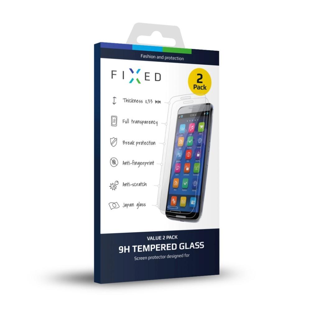 Tvrzené sklo FIXED pro Honor 5C/7 Lite, 2 ks