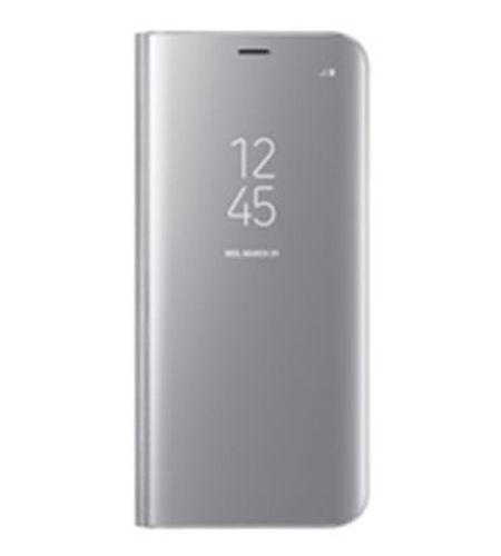 Samsung Clear View pouzdro flip EF-ZG955CS Samsung Galaxy S8+ stříbrné