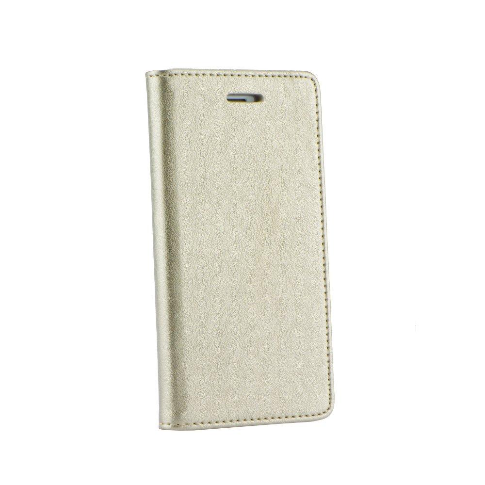 Magnet Book pouzdro flip Samsung Galaxy J1 2016 zlaté