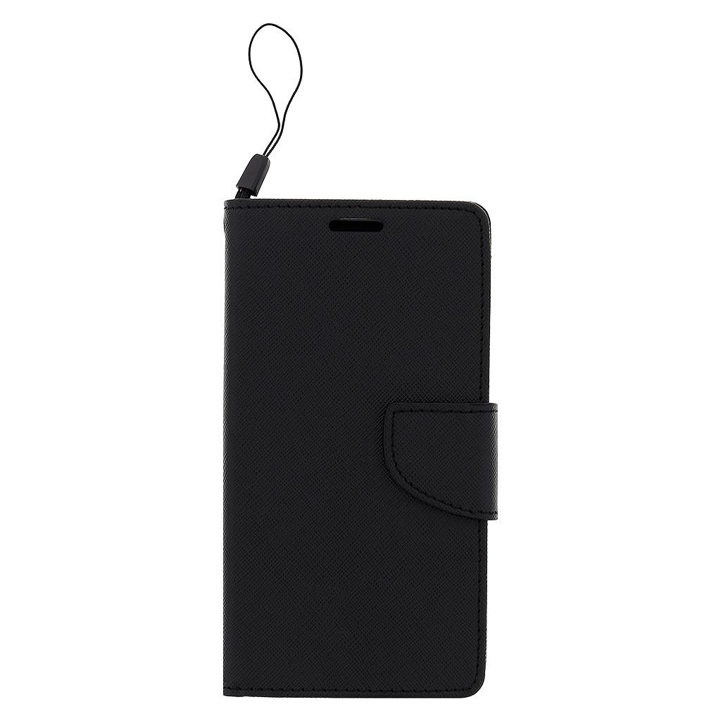 Fancy Diary flipové pouzdro Lenovo K6 Note černé