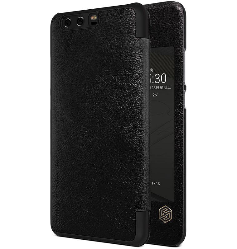 Nillkin Qin S-View flipové pouzdro Huawei P10 Plus černé