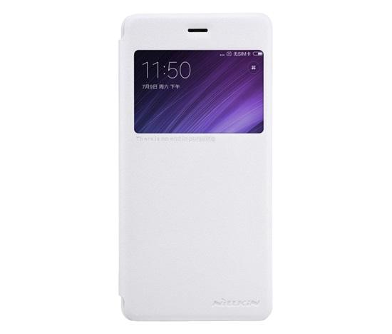 Nillkin Sparkle S-View pouzdro flip Xiaomi Redmi 4X bílé
