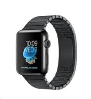 Apple Watch Series 2, 42mm pouzdro z vesmírně černé nerezové oceli + vesmírně černý článkový řemínek