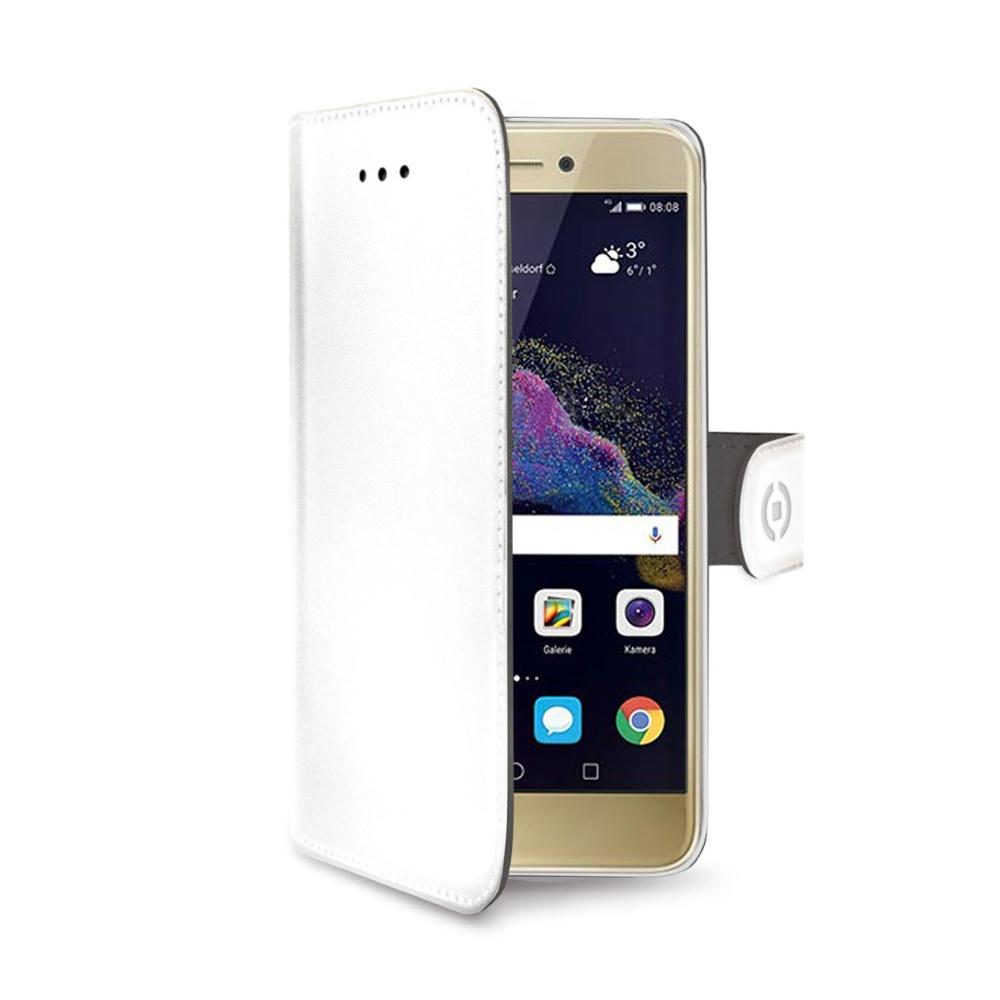 CELLY Wally flipové pouzdro Huawei P8/P9 Lite 2017 bílé