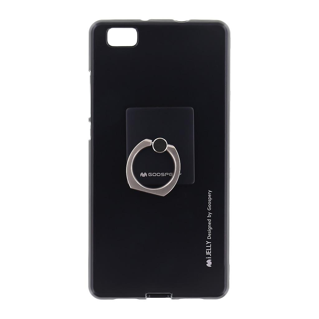 Mercury i-Jelly Ring silikonové pouzdro pro Huawei P8 Lite Black