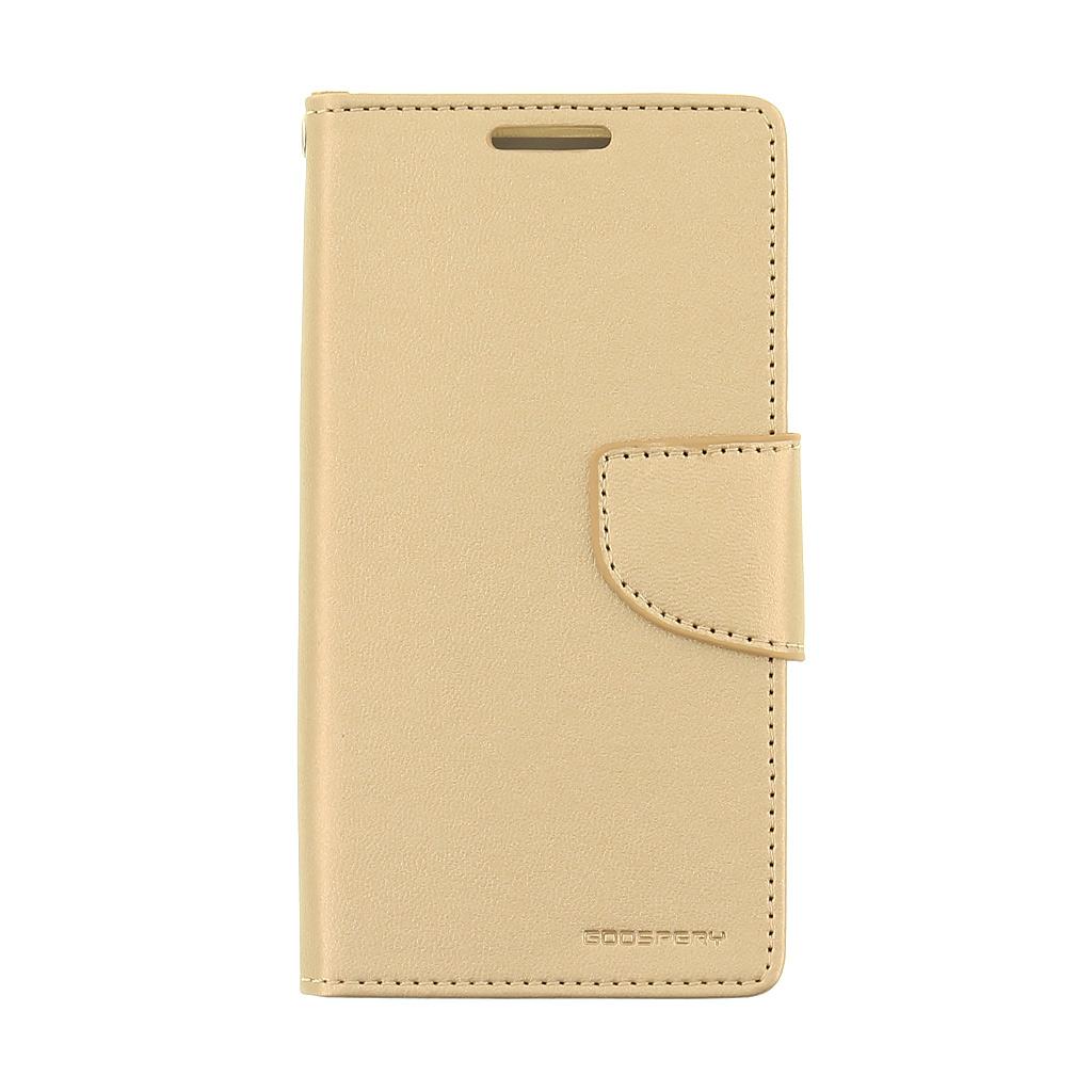 Mercury Bravo Diary pouzdro flip Samsung Galaxy A3 2016 zlaté