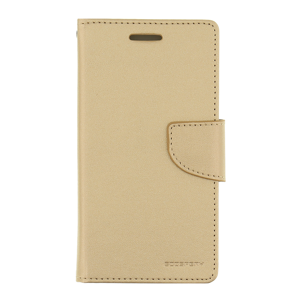 Mercury Bravo Diary pouzdro flip Samsung Galaxy J3 2016 zlaté
