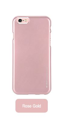 Silikonové pouzdro Mercury i-Jelly METAL pro Samsung Galaxy J3 2016, Rose gold