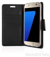 Mercury Bravo Diary pouzdro flip Samsung Galaxy J3 2016 černé